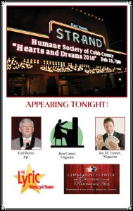 Atlanta Magician Turner Headlines at Strand Theatre Gala