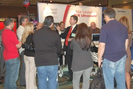 Atlanta Magician Joe M. Turner Attracts Crowds for Biosound Esaote at a Trade Show in Orlando