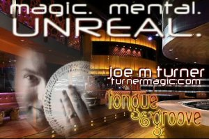 Atlanta Magician Joe M. Turner - Performing at the Tongue & Groove Nightclub