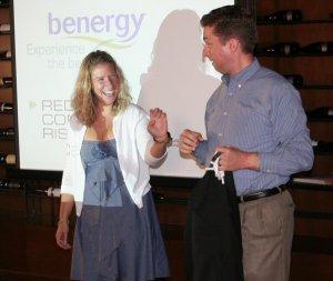 Atlanta magician and mentalist Joe M. Turner at a branding event