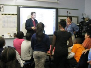 Joe M. Turner at Compton Elementary School