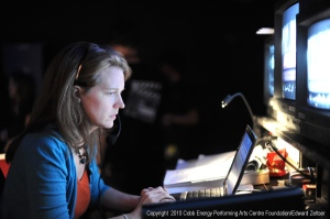 Heidi Bevill, Production/Stage Manager for the Shuler Hensley Awards