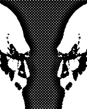 Amazing Randi Face Vase Illusion
