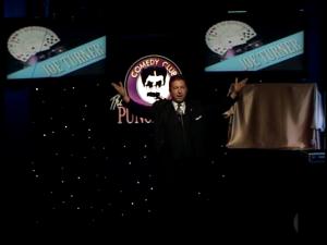 Atlanta Mentalist and Magician Joe M. Turner at the Punchline